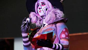 Maquillaje artístico fantasía facial y corporal